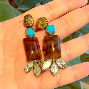Jcrew statement earrings
